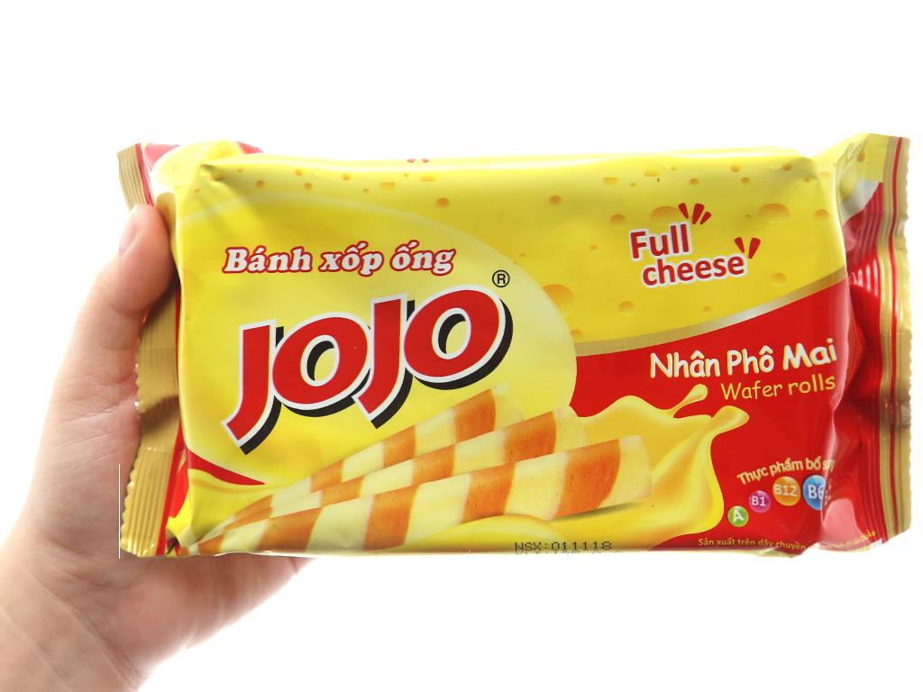 Bánh quế Jojo nhân phô mai 125g 5