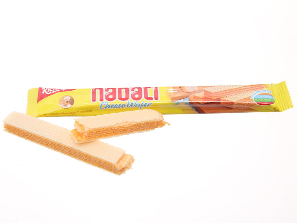 Bánh xốp nhân phô mai Nabati hộp 170g 4