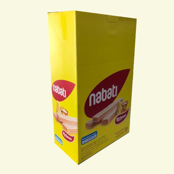 Bánh xốp nhân phô mai Nabati hộp 150g