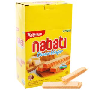 Bánh xốp nhân phô mai Nabati hộp 170g