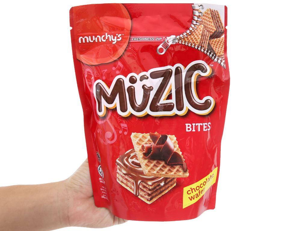 Bánh xốp socola Muzic túi 180g 3