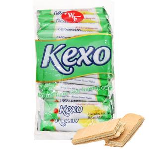 Bánh kem xốp hương cốm Kexo túi 145g