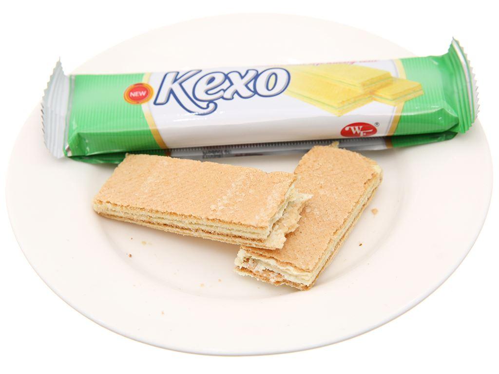 Bánh kem xốp hương cốm Kexo túi 145g 4