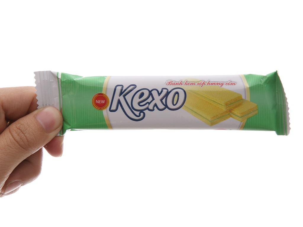 Bánh kem xốp hương cốm Kexo túi 145g 3