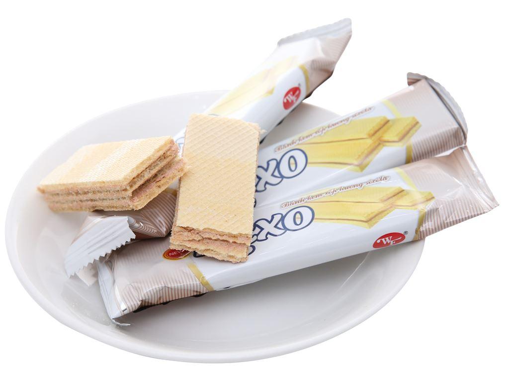 Bánh kem xốp hương socola Kexo gói 145g 4