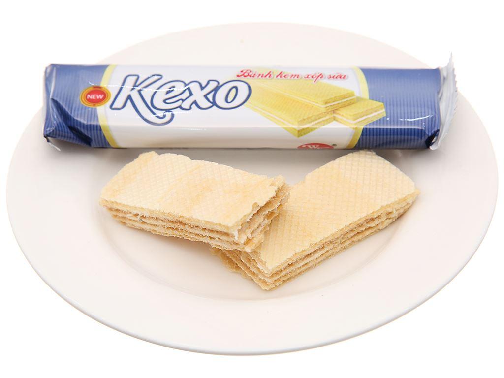Bánh kem xốp sữa Kexo gói 145g 4