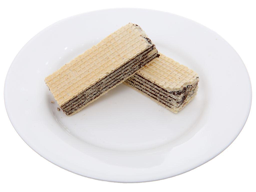 Bánh xốp nhân kem socola Imperial Wafers gói 60g 4