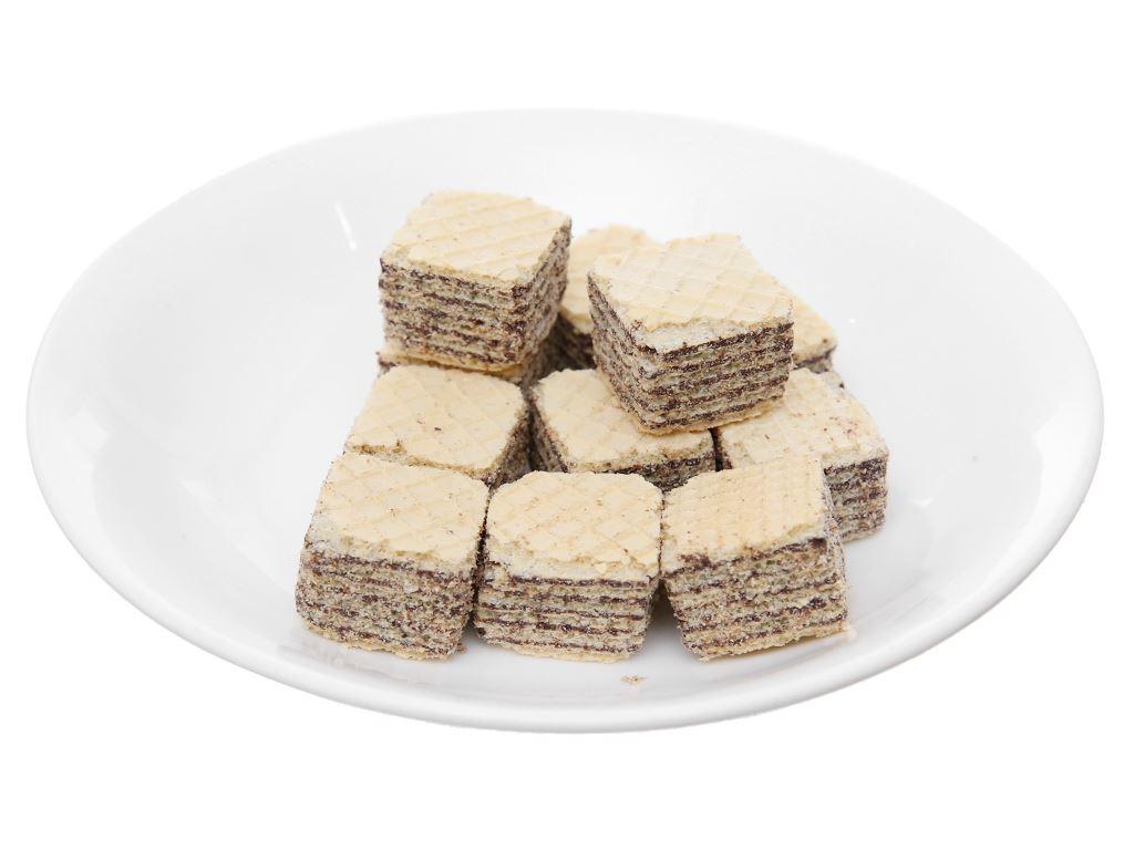 Bánh xốp nhân kem socola Imperial Wafers túi 80g 4