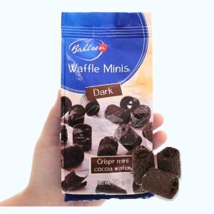 Bánh xốp cuộn ca cao Bahlsen Waffle Minis túi 75g