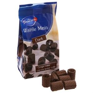 Bánh xốp cuộn cacao Bahlsen Waffle Minis gói 75g