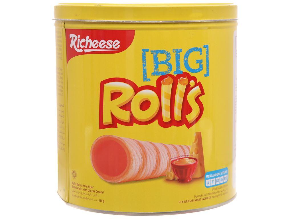 Bánh phô mai xốp - Richeese Roll's hộp 330g 5