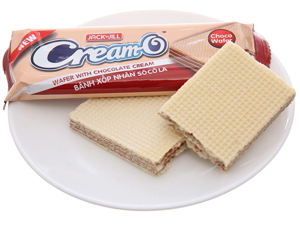 Bánh xốp nhân socola Cream-O gói 228g 4