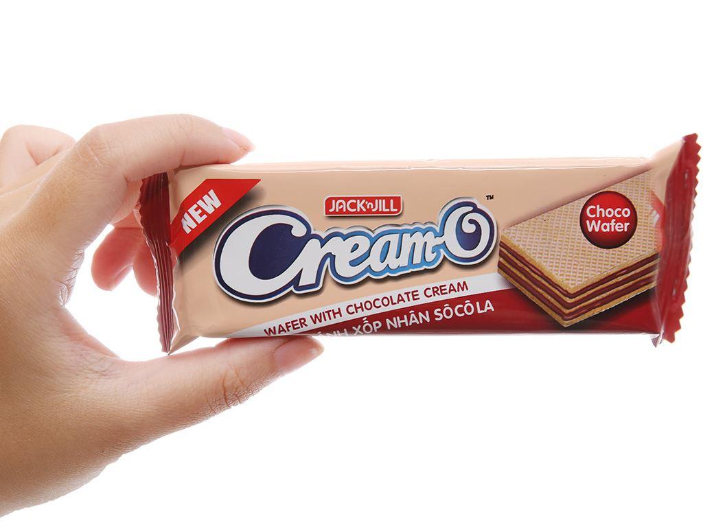 Bánh xốp nhân socola Cream-O gói 228g 3