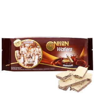 Bánh xốp socola Nissin Wafers gói 125g
