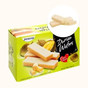 Bánh xốp sầu riêng Janscorp hộp 300g