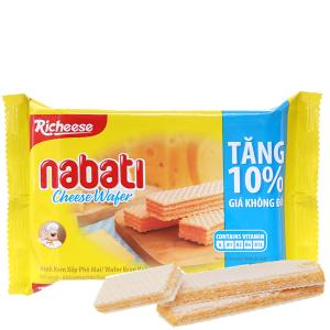 Bánh xốp nhân phô mai Nabati gói 52g