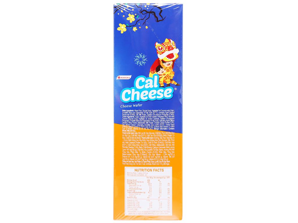 Bánh xốp nhân phô mai Cal Cheese hộp 170g 3