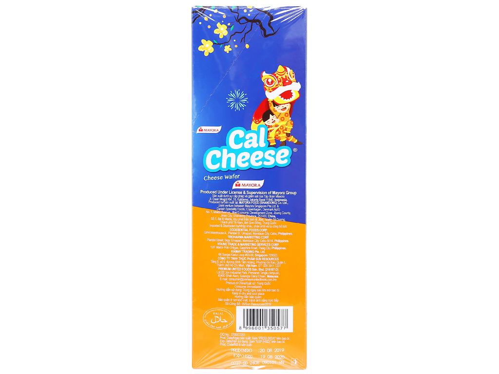 Bánh xốp nhân phô mai Cal Cheese hộp 170g 4