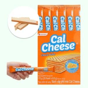 Bánh xốp nhân phô mai Cal Cheese hộp 170g