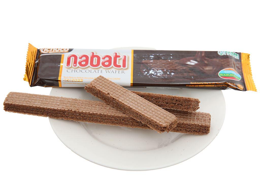 Bánh xốp nhân socola Nabati hộp 340g 4