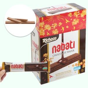 Bánh xốp nhân socola Nabati hộp 340g