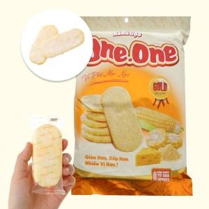 Bánh gạo ngọt vị phô mai bắp One One gói 118g