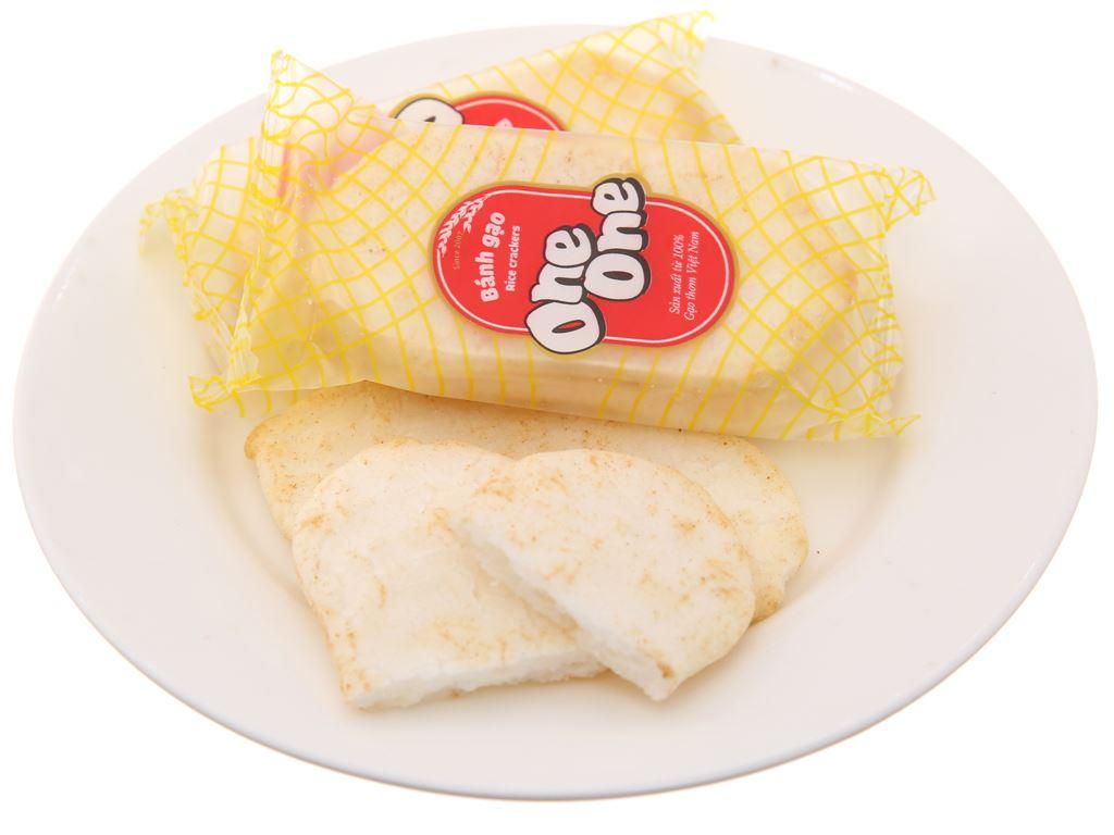 Bánh gạo vị bò nướng One One gói 230g 4