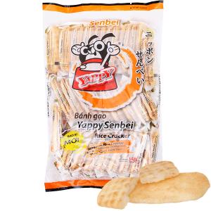 Bánh gạo vị ngọt YappySenbei gói 150g
