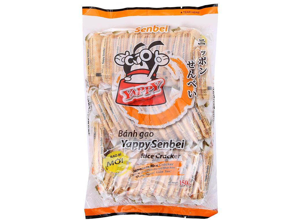 Bánh gạo vị ngọt YappySenbei gói 150g 2