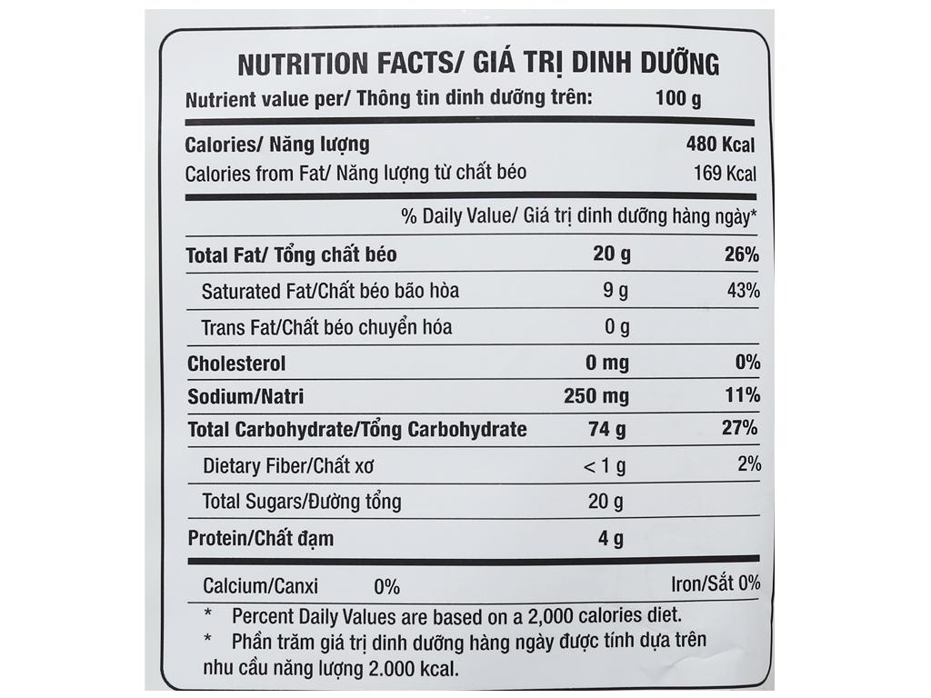 Bánh gạo nướng vị tự nhiên Orion An gói 151.2g 5