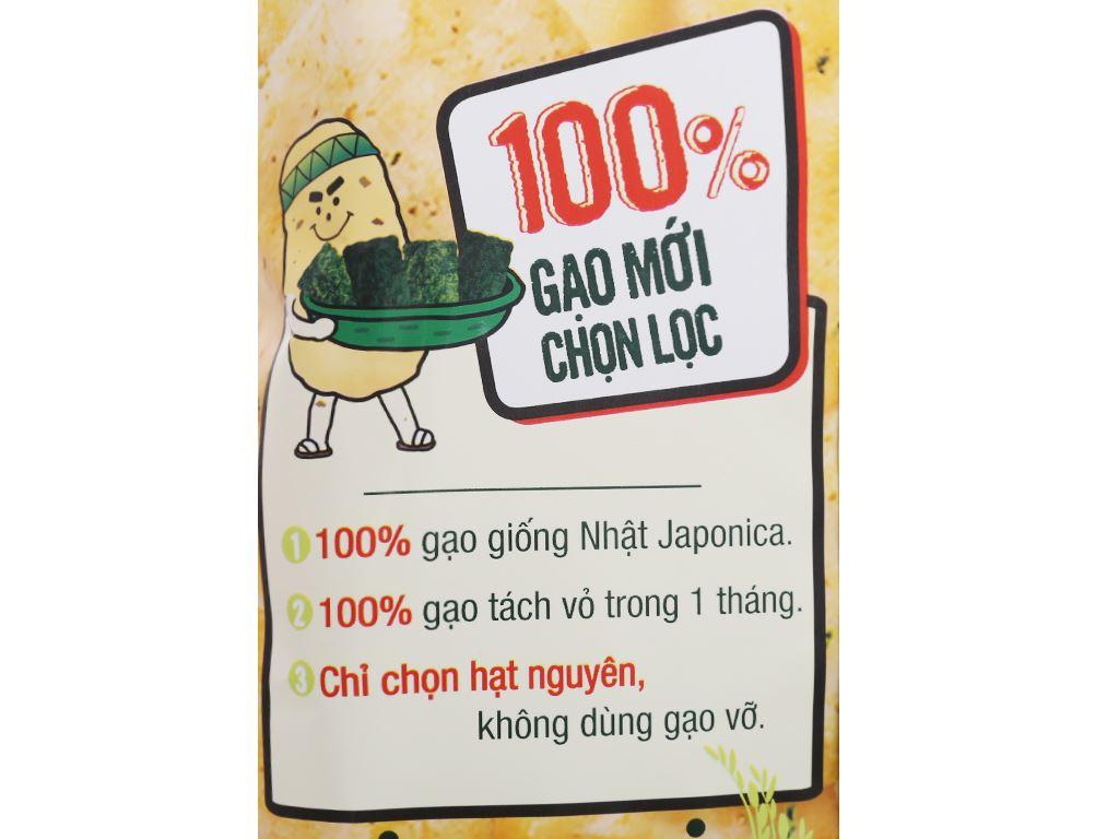 Bánh gạo nướng vị tảo biển Orion An gói 111.3g 6