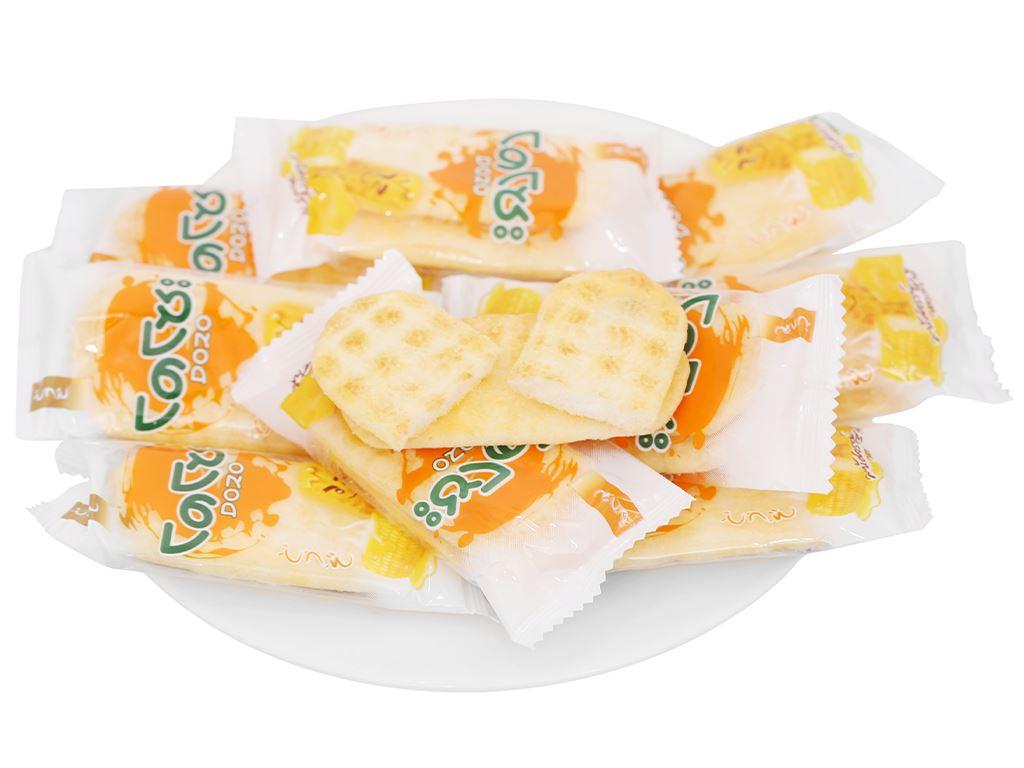 Bánh gạo vị phô mai ngô Dozo gói 56g 9