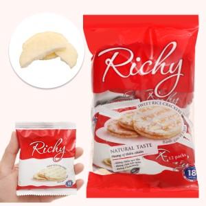 Bánh gạo vị ngọt Richy gói 135g