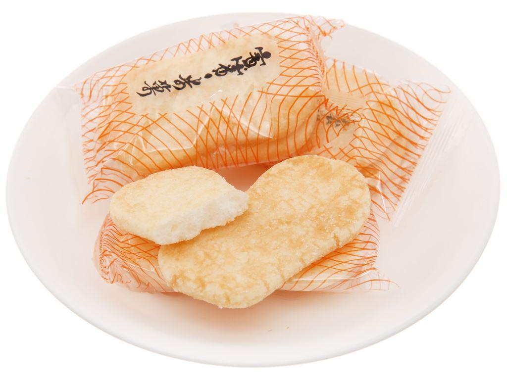 Bánh gạo nguyên chất vị mặn Bin Bin gói 75g 4