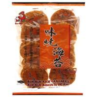 Bánh gạo Bin Bin vị rong biển cay 135g