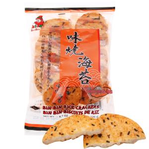 Bánh gạo vị rong biển Bin Bin gói 135g