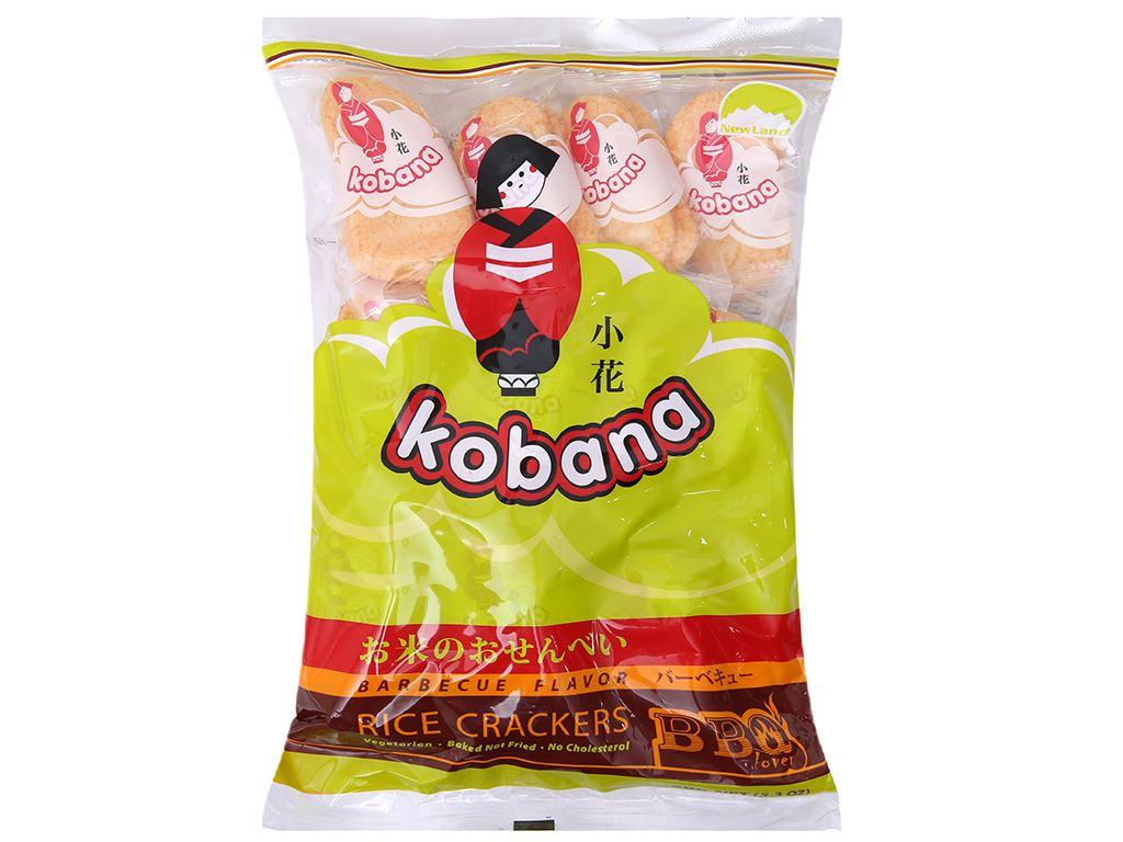 Bánh gạo mặn vị Barbecue Kobana gói 150g 2