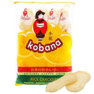 Bánh gạo hương vị tự nhiên Kobana gói 150g