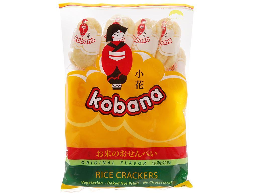 Bánh gạo hương vị tự nhiên Kobana gói 150g 1