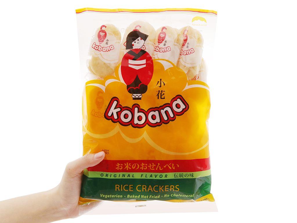 Bánh gạo hương vị tự nhiên Kobana gói 150g 3