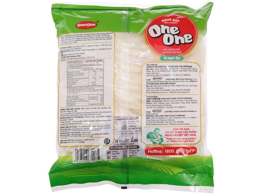 Bánh gạo vị ngọt dịu One One gói 230g 3