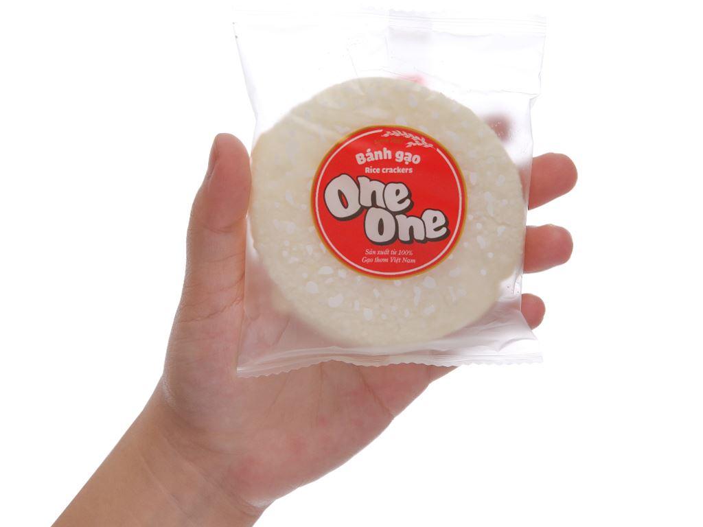 Bánh gạo vị ngọt dịu One One gói 230g 5