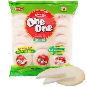 Bánh gạo vị ngọt dịu One One gói 230g
