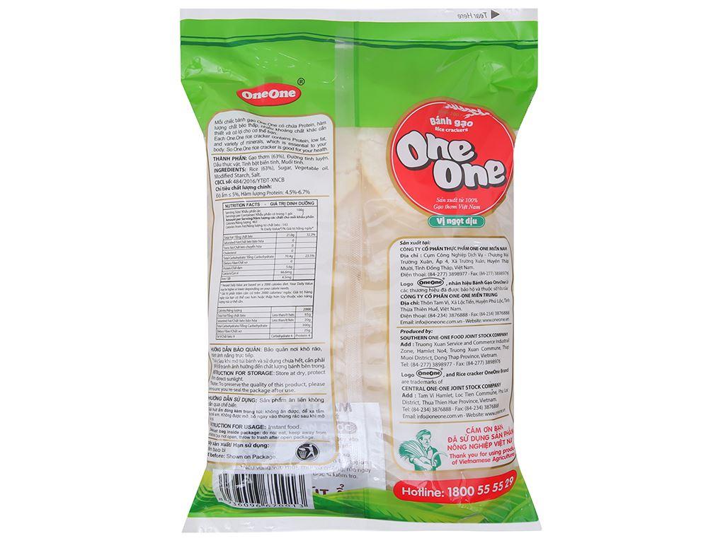Bánh gạo vị ngọt dịu One One gói 150g 3