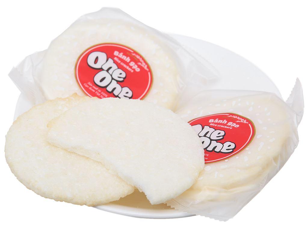 Bánh gạo vị ngọt dịu One One gói 150g 4