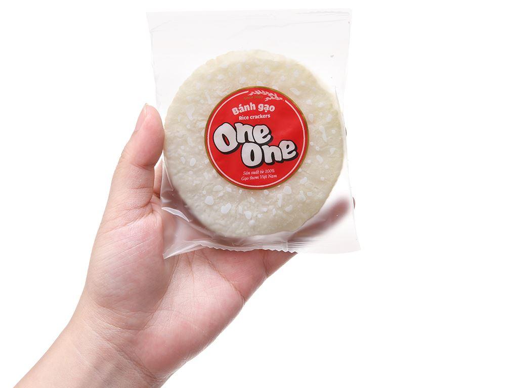 Bánh gạo vị ngọt dịu One One gói 150g 5