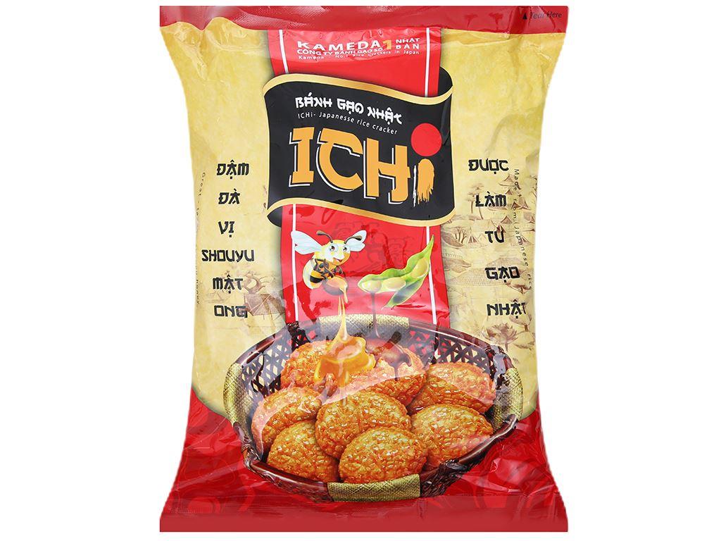 Bánh gạo Nhật vị Shouyu mật ong Ichi gói 180g 2