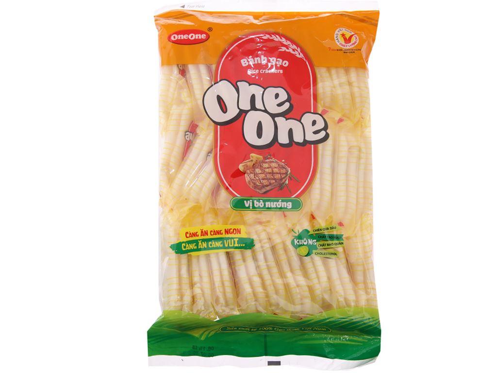 Bánh gạo vị bò nướng One One gói 150g 2