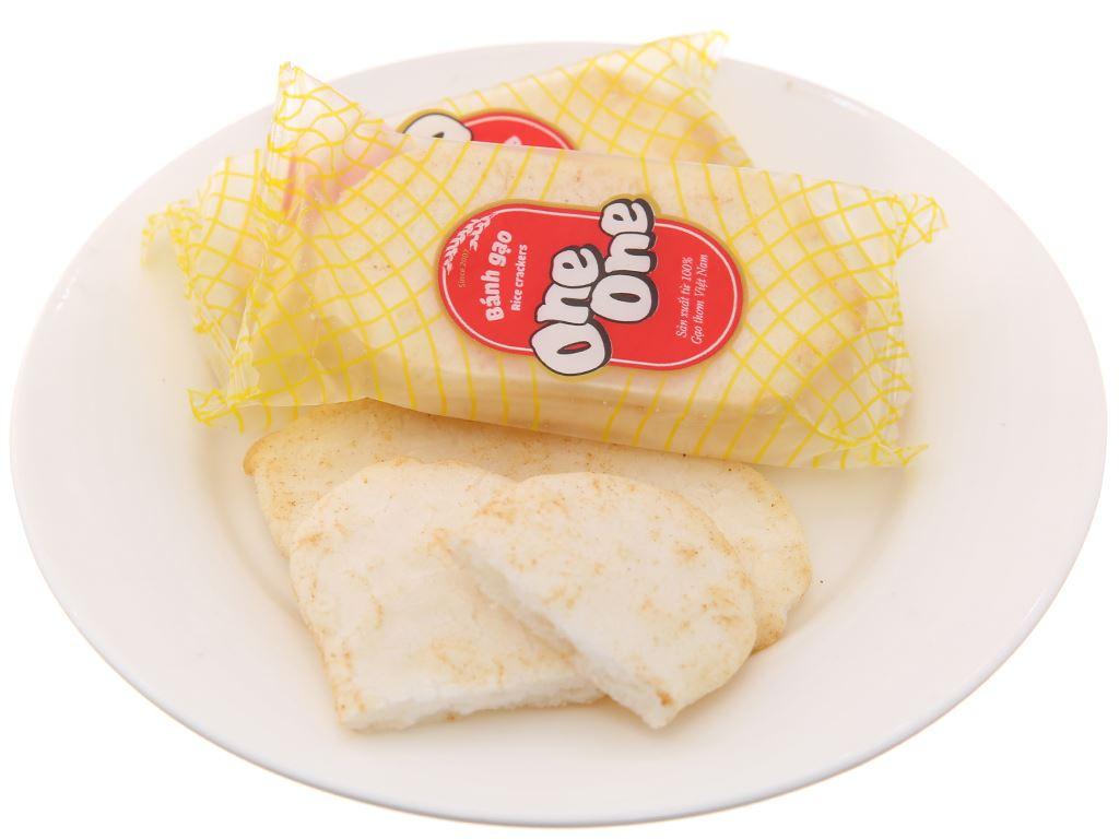 Bánh gạo vị bò nướng One One gói 150g 4