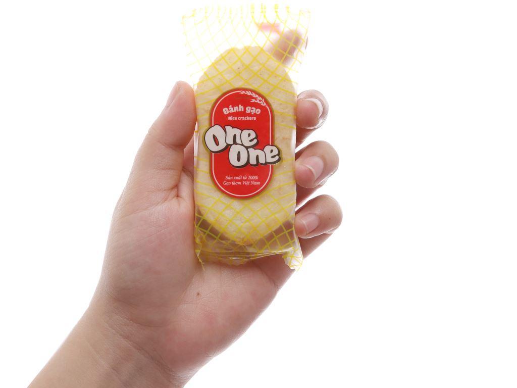 Bánh gạo vị bò nướng One One gói 150g 5
